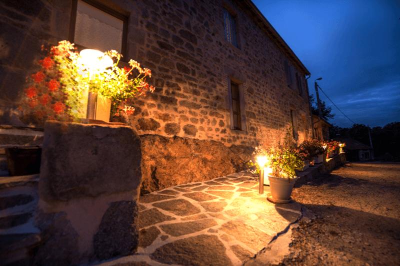 Le gite La Picolina, la nuit