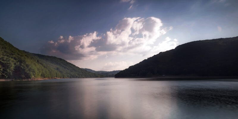 Lac des Fades autour du gîte La Picolina