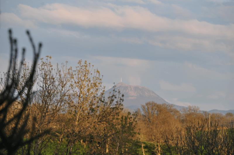 Vue sur le Puy de Dôme
