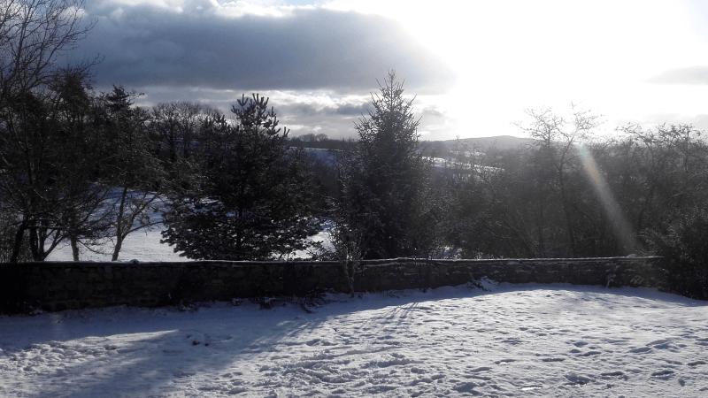 Le gîte La Picolina l'hiver